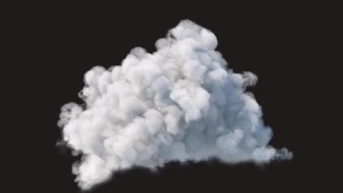 3D Model: Cloud 10