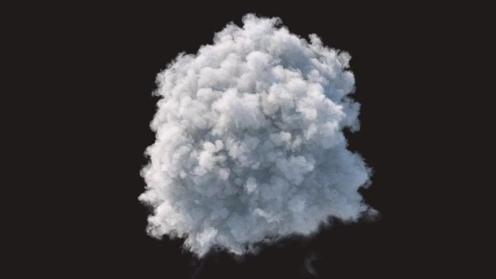 3D Model: Cloud 2