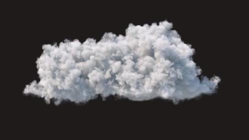 3D Model: Cloud 7