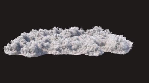 3D Model: Cloudscape C