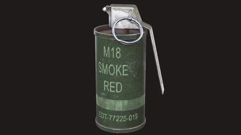 3D Model: M18 Smoke Grenade