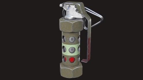 3D Model: M84 Stun Grenade