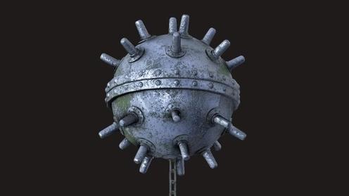 3D Model: Underwater Mine
