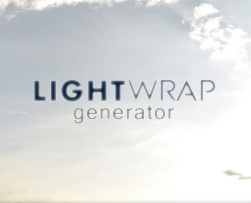 Easy light-wrapping script for AE