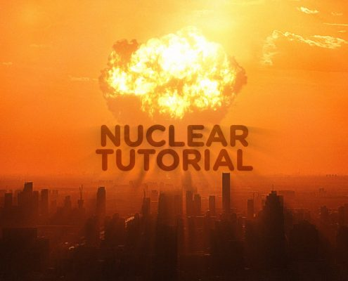 Create a Nuclear Explosion with VFX