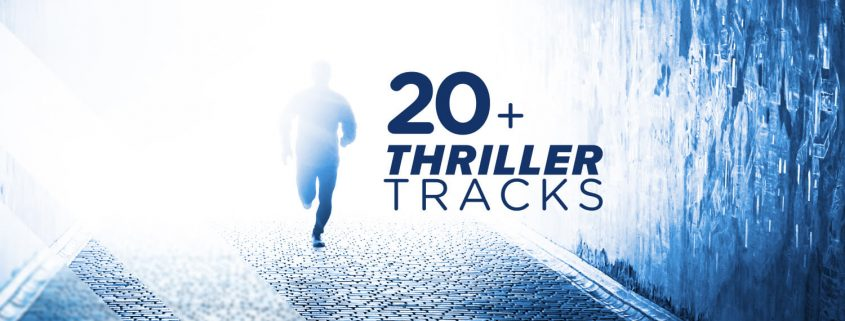 Thriller tracks for your video!