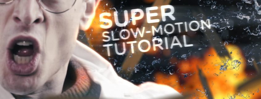 Inspired by the Quicksilver slow motion scenes
