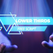 download free lower thirds text animation