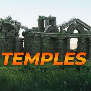 Download Ancient Temple Matte-Painting Assets