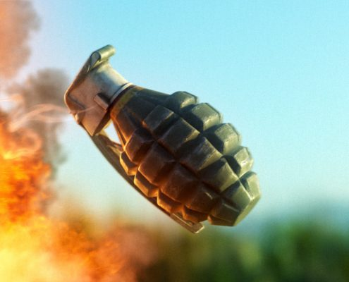 3D Grenade Model Download