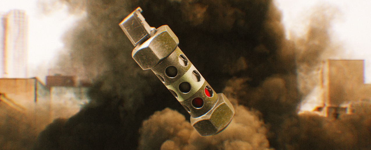 Download 4K Stun Grenade VFX Assets