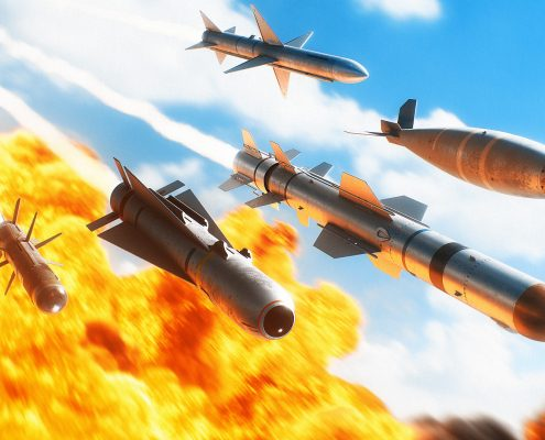 Download Photorealistic Missile 3D Models