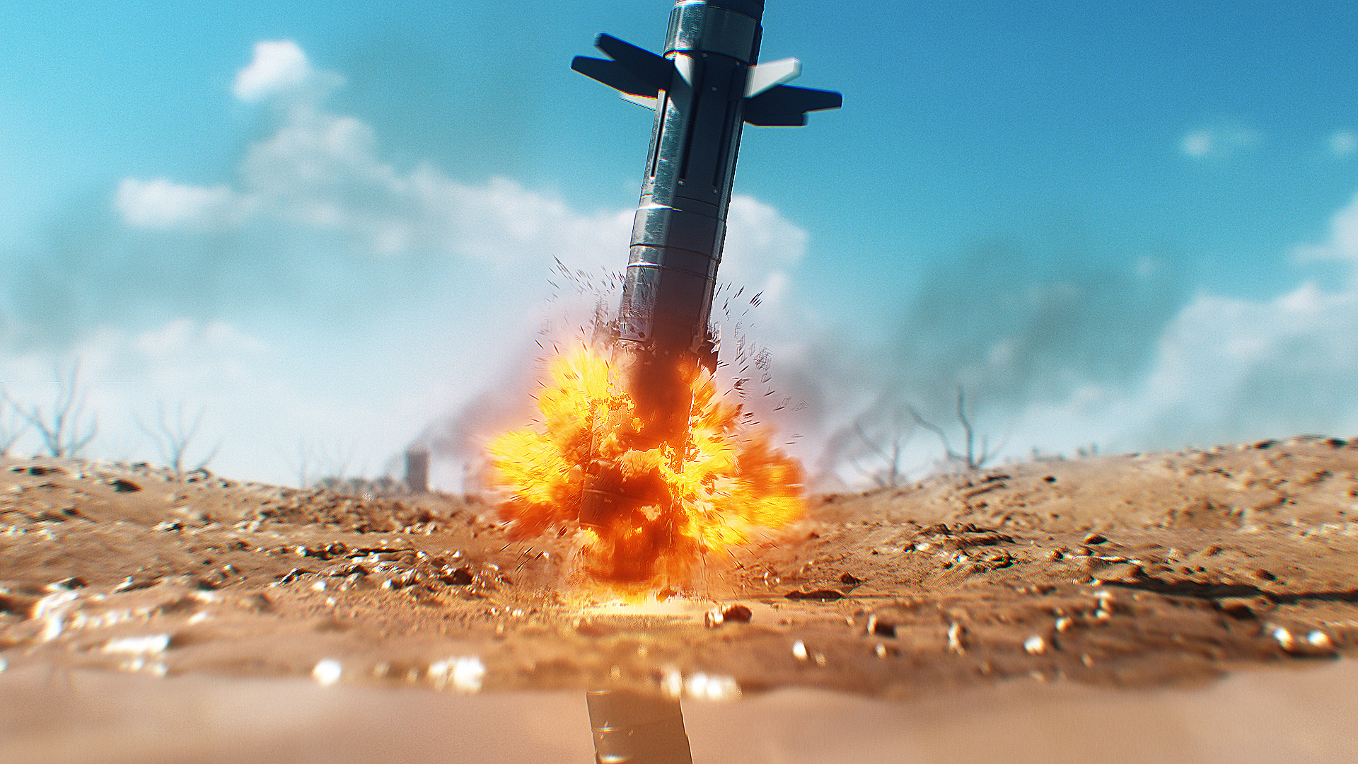 Download 3D Missile Models Explosion