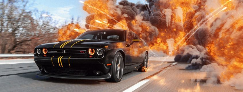 Download Car Chase Explosion VFX Tutorial