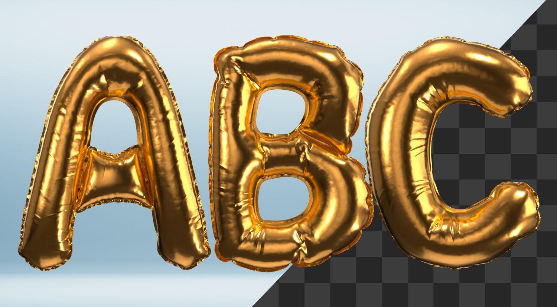 Gold Balloon Font