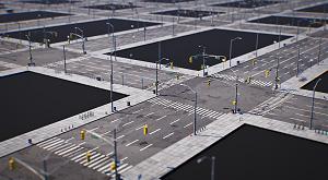 Download City Road Tile 3D Models