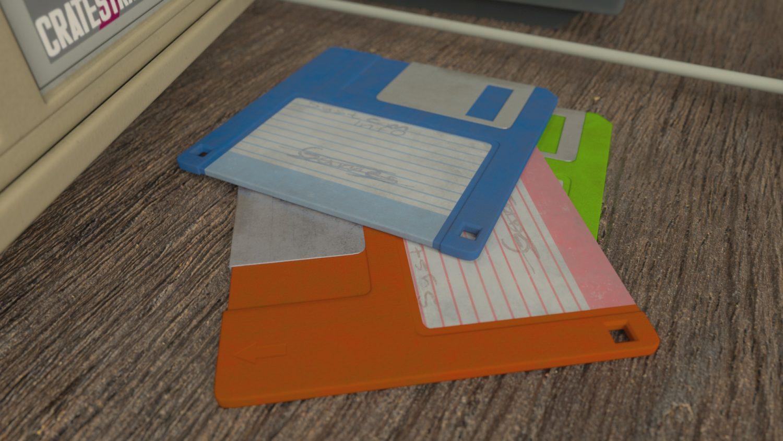 download 3d floppy disc